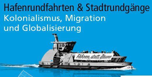 """Stadtrundgänge im Rahmen des Programms """"Kolonialismus, Migration und Globalisierung"""""""